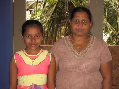 ASHARA AND MOTHER 2019