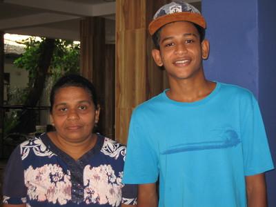 ASHEN KARVESHA AND MOTHER 2019