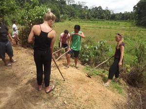 VIKUMGAMA GARDEN PLOTS CLEARING LAND