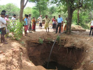PARANAPARA HOLE DUG FOR WELL