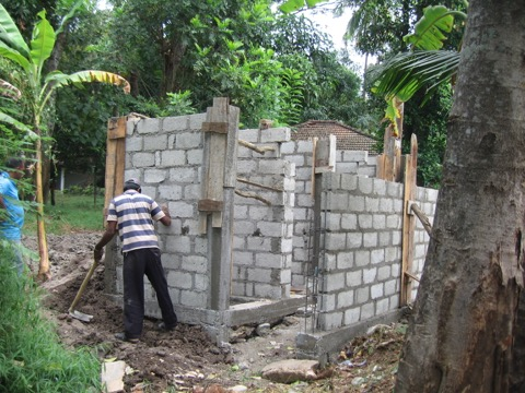 KANDY MALAPITIYA SCHOOL TOILET UNDER CONSTRUCTION